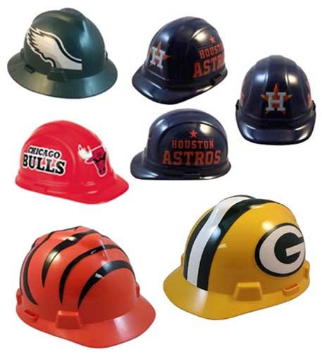 NFL MLB NBA Hard hats for fans