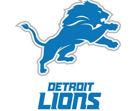 Detroit Lions playing in NFL