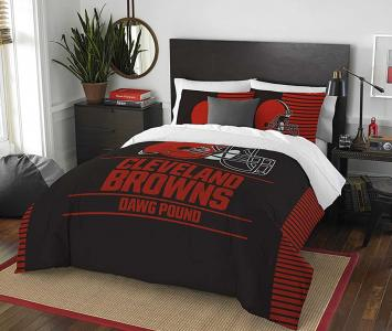 Comforter and Sham Set Cleveland Browns