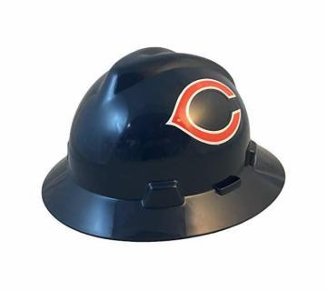 Chicago Bears NFL Fans Full Brim Hard Hat