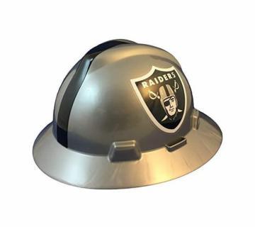 Las Vegas Raiders NFL Fans Full Brim Hard Hat