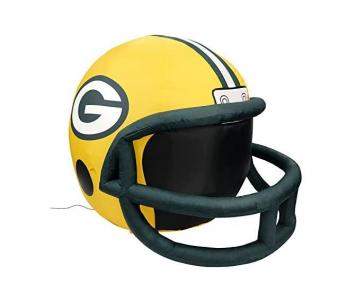 Inflatable Lawn Helmet Green Bay Packers