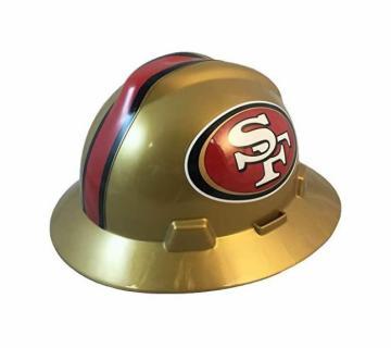 San Francisco 49ers NFL Fans Full Brim Hard Hat