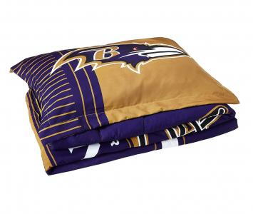 Comforter and Sham Set Baltimore Ravens