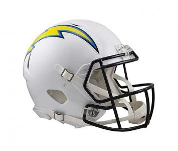 Full Size Football Helmet Los Angeles Chargers