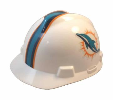 Miami Dolphins construction hard hat