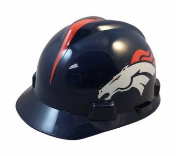 Denver Broncos construction hard hat