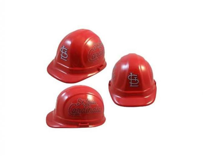St. Louis Cardinals MLB fans hard hat