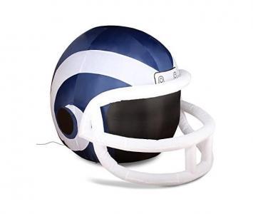 Inflatable Lawn Helmet Los Angeles Rams