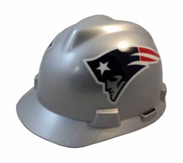 New England Patriots construction hard hat