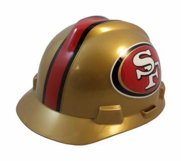 San Francisco 49ers construction hard hat