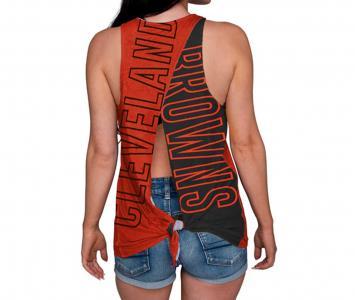 Women's Sleeveless Top Cleveland Browns