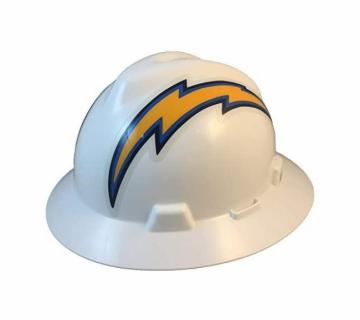 Los Angeles Chargers NFL Fans Full Brim Hard Hat