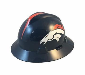 Denver Broncos NFL Fans Full Brim Hard Hat