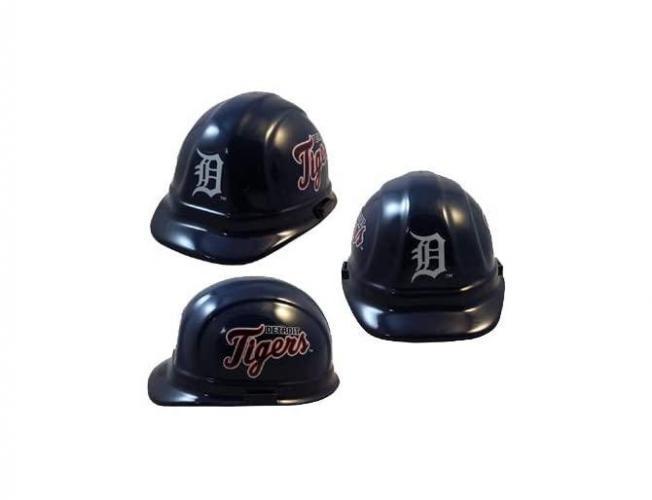 Detroit Tigers MLB fans hard hat