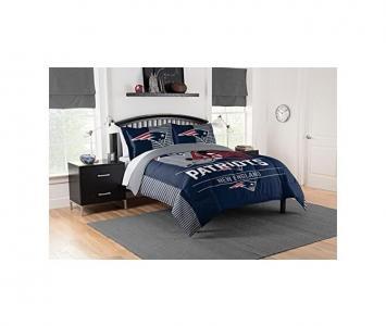 Comforter and Sham Set New England Patriots