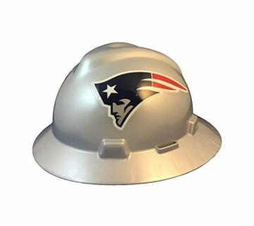 New England Patriots NFL Fans Full Brim Hard Hat