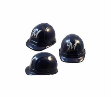 Milwaukee Brewers MLB fans hard hat