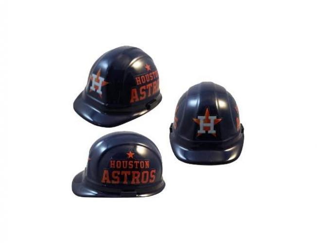 Houston Astros MLB fans hard hat