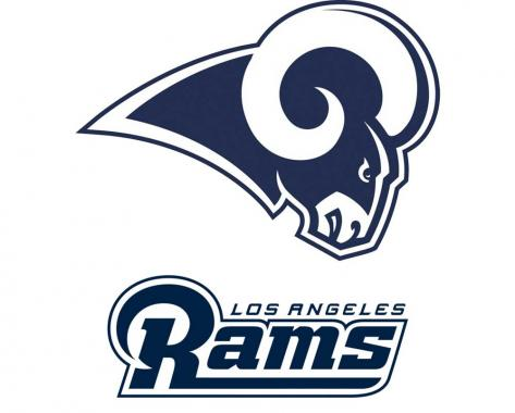 Los Angeles Rams playing in NFL