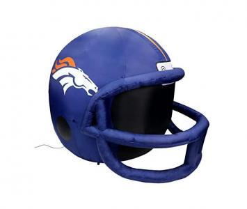 Inflatable Lawn Helmet Denver Broncos