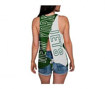 Women's Sleeveless Fashion Top New York Jets