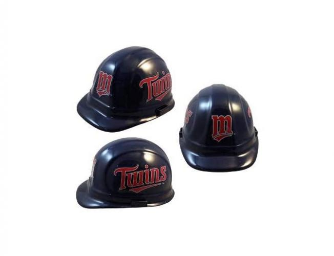 Minnesota Twins MLB fans hard hat