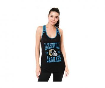 Women's Sleeveless Fashion Top Jacksonville Jaguars
