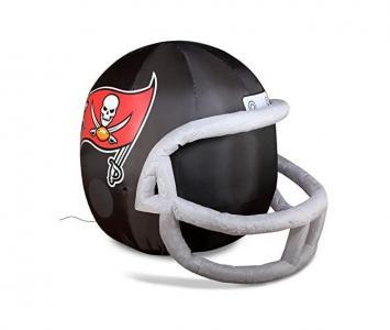 Inflatable Lawn Helmet Tampa Bay Buccaneers