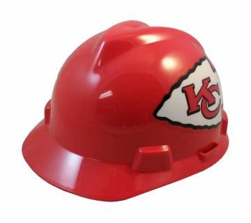 Kansas City Chiefs construction hard hat