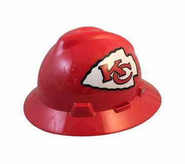 Kansas City Chiefs NFL Fans Full Brim Hard Hat