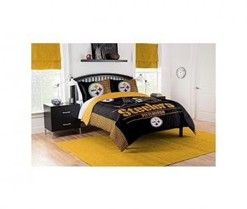 Comforter and Sham Set Pittsburgh Steelers