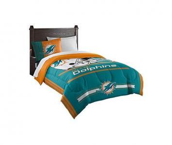 Comforter and Sham Set Miami Dolphins