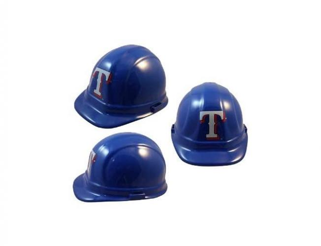 Texas Rangers MLB fans hard hat
