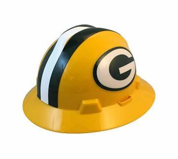 Green Bay Packers NFL Fans Full Brim Hard Hat
