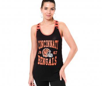 Women's Sleeveless Top Cincinnati Bengals
