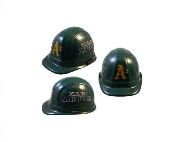 Oakland Athletics MLB fans hard hat