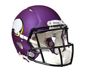 Full Size Football Helmet Minnesota Vikings