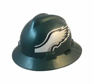 Philadelphia Eagles NFL Fans Full Brim Hard Hat