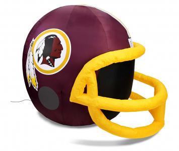 Inflatable Lawn Helmet Washington Redskins