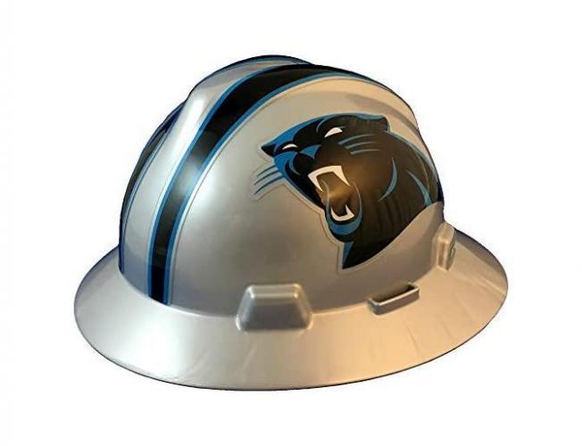 Carolina Panthers NFL Fans Full Brim Hard Hat