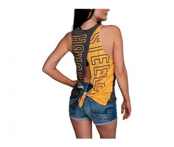 Women's Sleeveless Fashion Top Pittsburgh Steelers