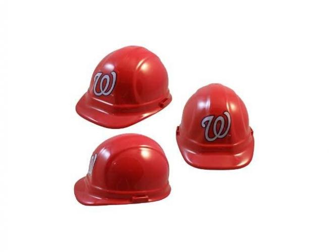 Washington Nationals MLB fans hard hat