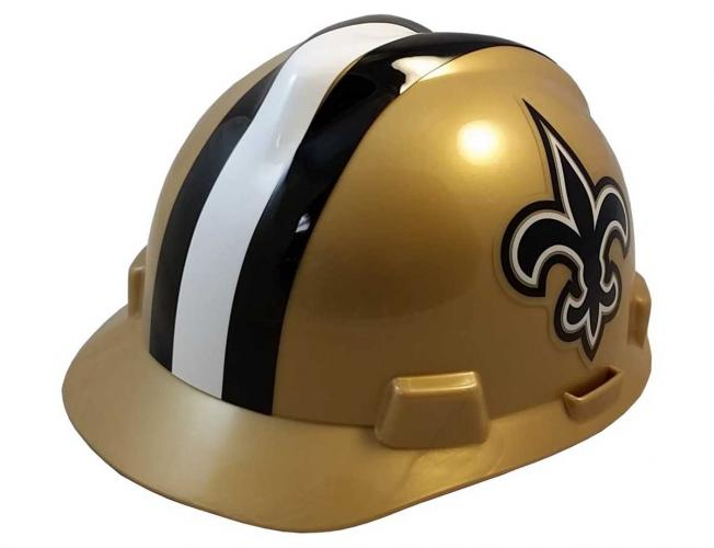 New Orleans Saints construction hard hat