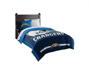 Comforter and Sham Set Los Angeles Chargers